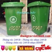 Bán thùng rác 240 lít, thùng rác nhựa 240 lít giá siêu rẻ- 01208652740 Huyền