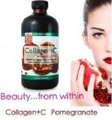 Thuốc Uống Dưỡng Trắng Da Neocell Collagen C Pomegranate Liquid 16 Oz
