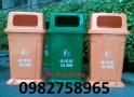 Bán thùng rác nhựa HDPE, thùng rác 95l, thùng rác công cộng giá rẻ