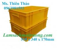 Hộp đựng linh kiện, thùng nhựa đặc, thùng nhựa công nghiệp giá rẻ