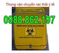Thùng chở rác thải y tế, thùng vận chuyển rác thải y tế, sản xuất thùng chở hàng