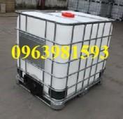 Cung cấp bồn nhựa 1000 lít, bồn chứa nước, bồn chứa hóa chất giá rẻ