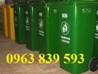 Bán thùng rác công nghiệp, thùng rác nguy hại bệnh viện giá rẻ.