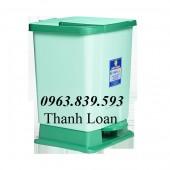 Cc thùng rác đạp chân nhỏ, thùng phân loại rác y tế giá cạnh tranh- 0963.839.593