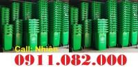 Cung cấp thùng rác công cộng giá rẻ tại Long an- thùng rác 120l 240L- lh 0911082