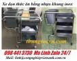 Xe dọn vệ sinh bằng inox