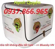 Thùng đựng thực phẩm, thùng chở hàng, thùng giao hàng nhanh giá rẻ