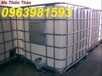 Chuyên cung cấp tank 1000l, thùng đựng hóa chất, tank IBC giá rẻ