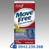 Schiff® Move Free Advanced plus MSM & vitamin D – Đặc trị bệnh xương khớp