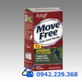 Schiff® Move Free ®Advanced plus 1500 mg MSM 120 viên – Mẫu mới