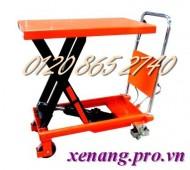 Xả hàng giá sốc xe nâng bàn 500kg, 800kg và 1 tấn nâng cao 1 mét hàng Đài Loan