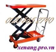 Xe nâng bàn 350kg và 800kg nâng cao 1300mm hàng Đài Loan giảm giá cực sốc