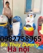 Cung cấp thùng rác con thú, thùng rác nhựa giá rẻ, thùng rác cá chép