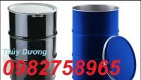 Thùng phuy sắt đựng hóa chất, thùng phuy 220l, thùng chứa giá rẻ
