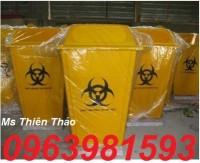 Thùng rác y tế, thùng đựng chất nguy hại, thùng rác y tế 120l