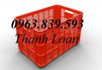 Rổ nhựa 5 bánh xe - Bán rổ nhựa đựng hàng hóa giá rẻ - 0963.839.593