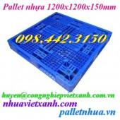 Pallet nhựa 1200x1200x150mm PL16LK giá siêu cạnh tranh call 0984423150 – Huyền