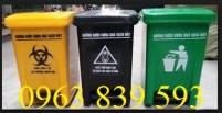 Thùng rác nhựa đạp chân dùng trong ngành y giá rẻ ! LH: 0963 839 593 Thanh Loan