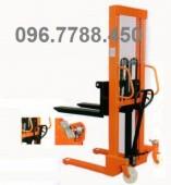 Xe nâng tay 1000 kg, xe nâng 1 tấn lên cao 1.6m, xe nâng Meditek 0967788450
