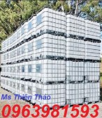 Bồn đựng hóa chất, bồn nhựa 1000l, thùng nhựa đựng hóa chất giá rẻ
