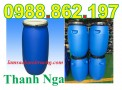 thùng phuy nhựa,thùng phuy, thùng phuy 100 lit, thùng phuy chứa hóa chất giá rẻ