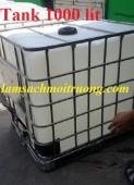 Chuyên cung cấp bồn đựng hóa chất, thùng chứa màu trắng 1000l, tank nhựa giá rẻ