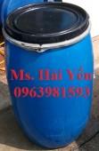 Nơi cung cấp thùng phuy nhựa, thùng phuy nhựa cũ, thùng phuy làm bè giá rẻ