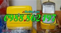 Thùng chở hàng sau xe máy giá Hà Nội, Thùng vận chuyển rác thải y tế, thùng chở