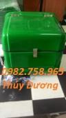 Thùng chở hàng sau xe máy, thùng ship hàng, thùng giao hàng giá rẻ