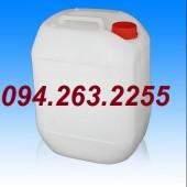 Can đựng hóa chất giá rẻ, can nhựa 20l, can 30l tròn