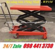 Xe nâng bàn 350kg nâng cao 1m3 WP350