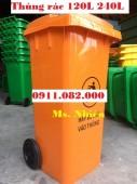 Tây Ninh- chuyên sỉ thùng rác 240 lít giá rẻ- thùng rác nhựa hdpe- lh 0911082000