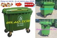 Thùng rác 660 lít nhựa hdpe giá sốc call 0984423150 – Huyền