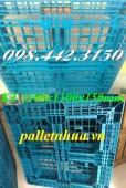 Pallet nhựa 1100x1100x150mm giá siêu rẻ - khuyến mãi sốc call 0984423150 – Huyền