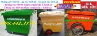 Thùng rác 660 lít nhựa composite giá siêu rẻ call 0984423150 – Huyền