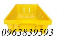 Sóng nhựa đựng cá, rổ nhựa 1T9 giá tốt - Call: 0963.839.593